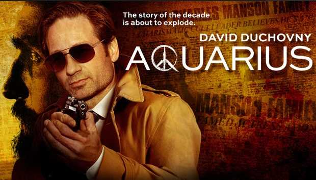 Aquarius: Watch full episodes online. It's 1967 and the era of free love, drug experimentation and Vietnam is in full effect. When the teenage daughter of a respected lawyer goes missing, LA Police Sergeant Sam Hodiak starts asking around. He soon discovers that the hippie kids he's questioning don't take kindly to cops, especially one with hair as short as his. Needing the help of someone they trust, he partners with rebellious undercover cop Brian Shafe, a man who's more comfortable rolling a joint than patrolling a beat. It's not long before they stumble upon a small-time cult leader seeking out vulnerable women to join his cause. From there, they follow this man's trail down a rabbit hole of drugs, sex, murder and cultural revolution. Little could they know, however, the guy they're hunting will eventually become the killer we now recognize as Charles Manson. He was a lost soul who desperately wanted to get into the music scene of the '60s until something snapped. This is the show that will explore the cat-and-mouse game between him and the police, which will go on for several seasons ultimately ending with the infamous Tate-LaBianca murders.Cast: David Duchovny.