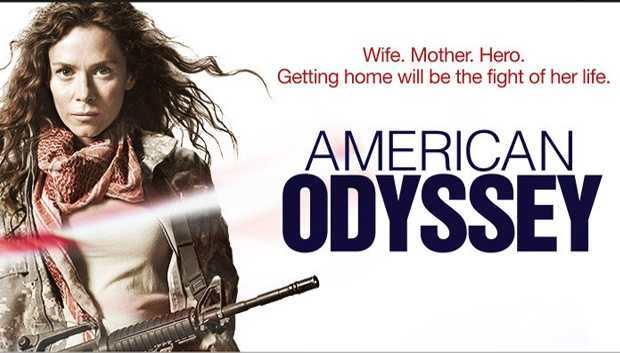 "American Odyssey: On SUNDAYS 10:00 pm. In this ""Traffic""-like action drama, an international conspiracy explodes when three strangers' lives unexpectedly collide - a female soldier, a corporate lawyer and a political activist. After a team of American soldiers battle jihadists in North Africa, they're shocked to find that one of the men they killed is Al Qaeda's top man. Sergeant Odelle Ballard - a soldier, mother, wife and the unit's only female member - discovers computer files that suggest a major U.S. corporation is funding the jihadists. But before she can tell anyone, her team is attacked and left for dead. News is reported that the unit was wiped out, but the truth is that Odelle survived and is the only witness to her unit's assassination by U.S. Special Forces. In New York, former U.S. Attorney Peter Decker is working on a merger deal for the same company that was funneling money to the jihadists. And meanwhile, Harrison Walters, a political activist and trust fund kid, meets a hacker who claims to have unearthed a massive military-industrial conspiracy. And he's right: he's stumbled onto the cover-up that began with Odelle and will soon be out in the open... and everyone's lives will be in danger. The only way they'll ever save their country, their families and themselves is by joining forces and exposing the people behind it.Cast: Anna Friel, Peter Facinelli, Jake Robinson, Jim True-Frost, Treat Williams, Nate Mooney, Elena Kampouris, Daniella Pineda, Sadie Sink, Adewale Akinnuoye-Agbaje, and Omar Ghazaoui."