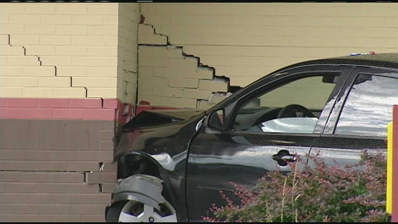 Investigators said the mother had been teaching her 17-year-old how to drive near Springfield Pike, but the teenager lost control and crashed the car into a brick wall.