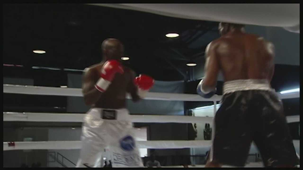 Boxing event aims to end street violence