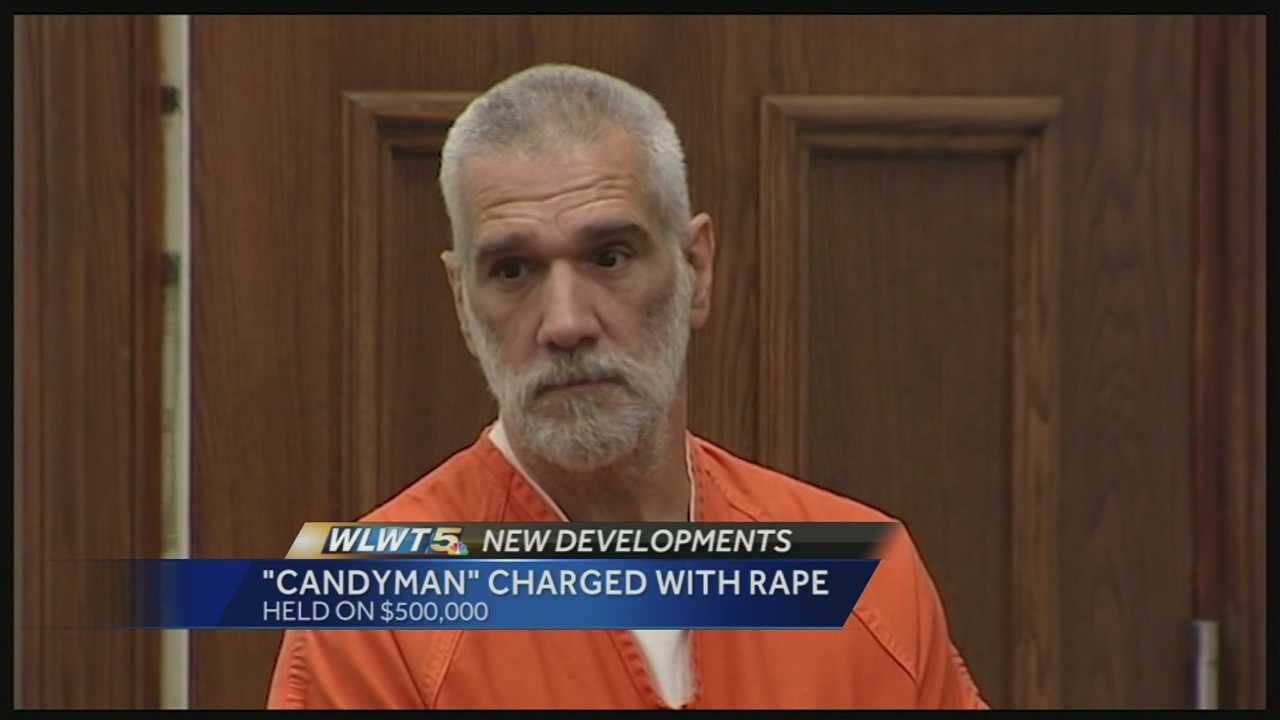 Officers said 55-year-old Martin Meyer, who the community refers to as the Candyman, was indicted on rape charge Monday accused of raping a 12-year-old girl.