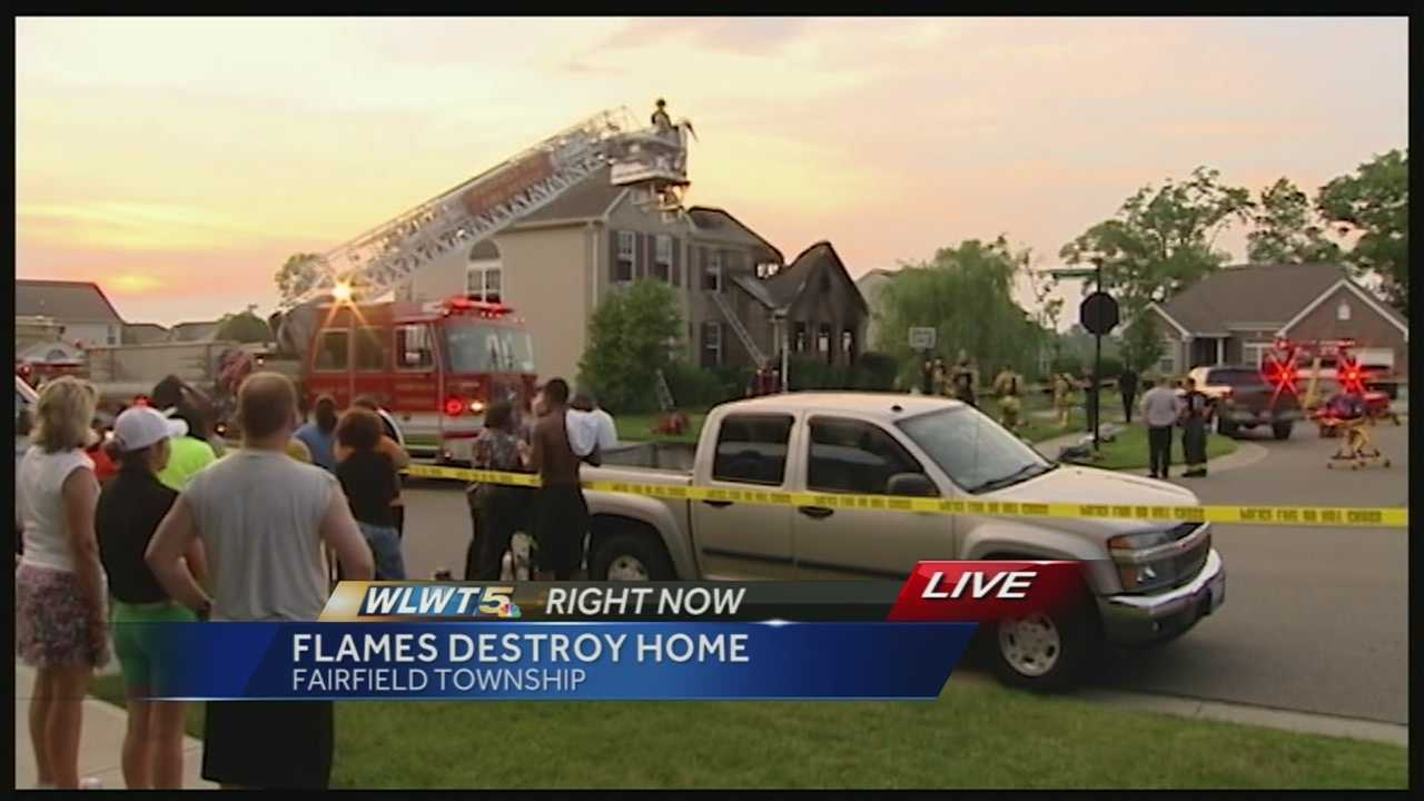 Firefighters say a lawn mower is to blame for a house fire in Fairfield Township Monday night. Firefighters say a teenager had been working with the mower and put it in the garage causing it to catch on fire. No one was hurt.