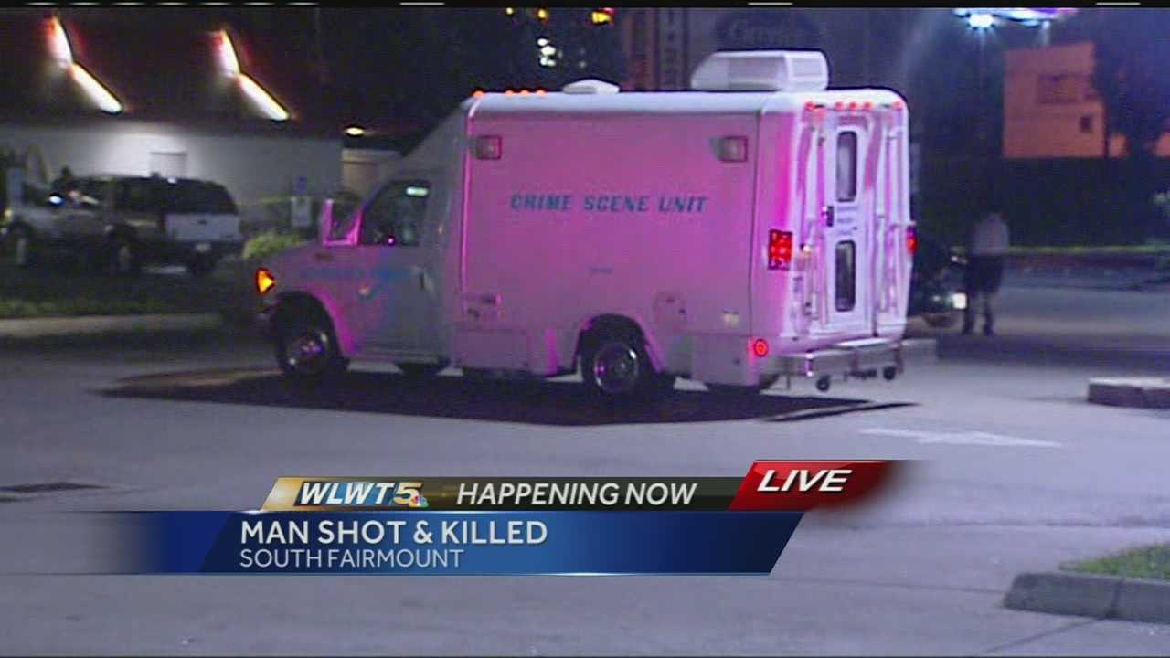Officers said dispatchers received several calls about shots fired in the area of Beekman Street and Queen City Avenue in South Fairmount.