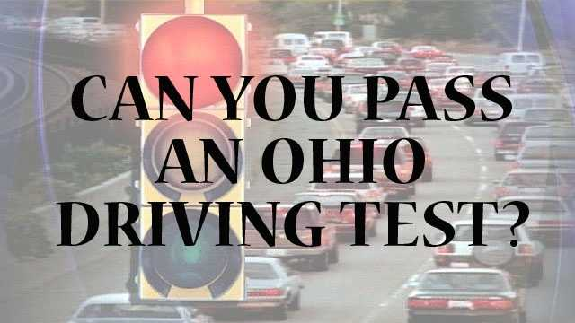 The state of Ohio provides an online test to see how well drivers actually know the laws of the roads. How well will you do?