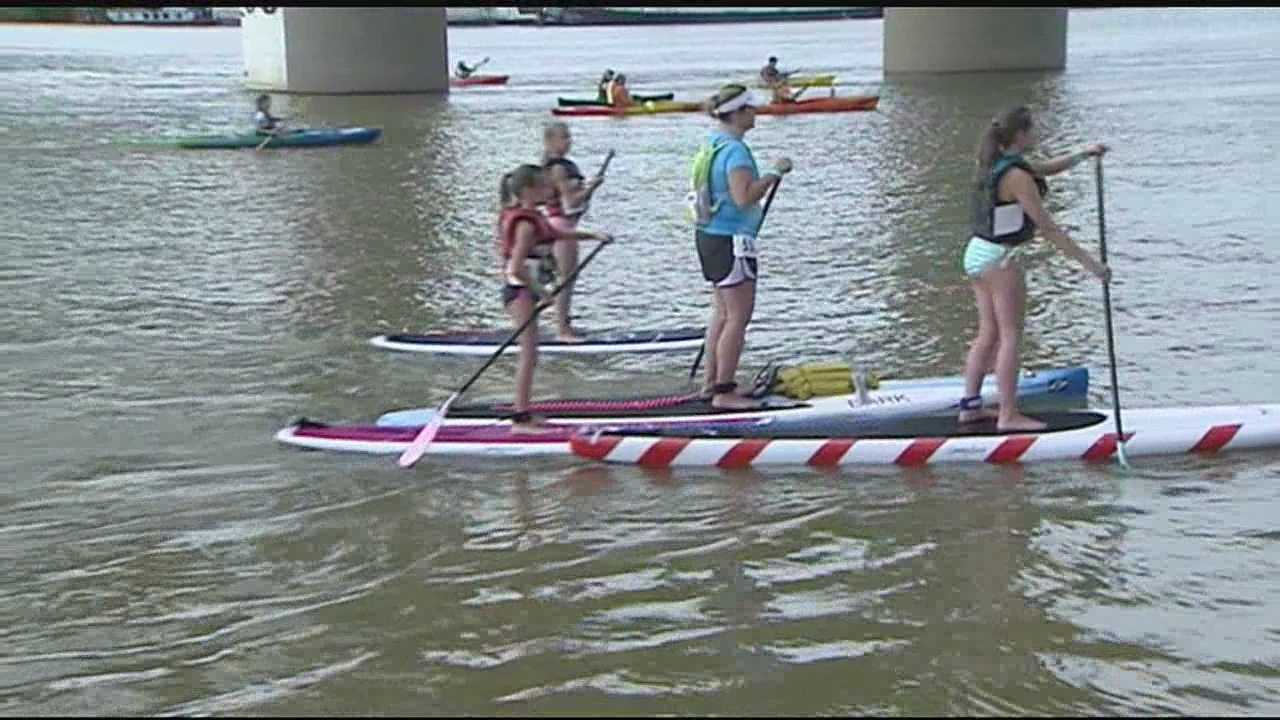 Thousands take part in annual Ohio River Paddlefest