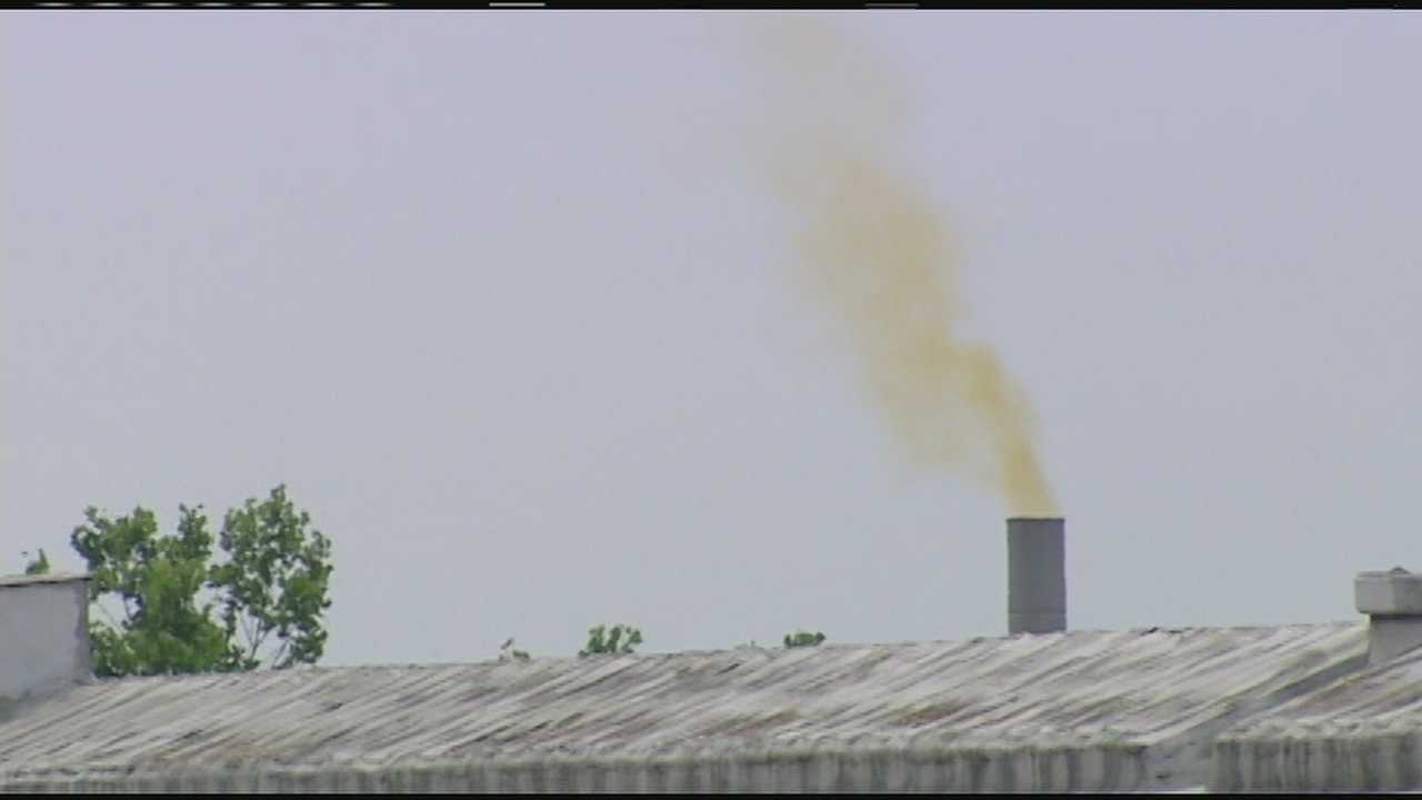 Officials investigating leak at chemical plant in Norwood