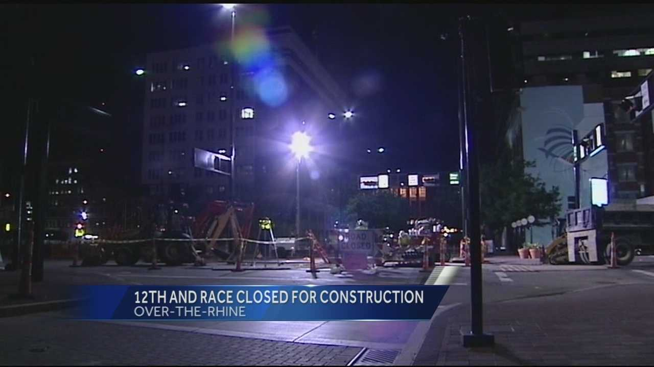 12th and Race to close for streetcar work