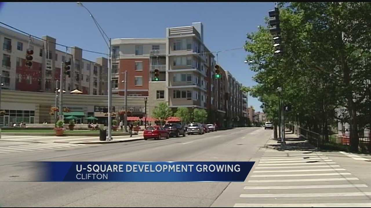 U Square at the Loop has developed 80,000 square-feet in Clifton into retail and business central. The $80 million development continues to attract tenants and could possibly be a future turn around point for the streetcar, developers said.