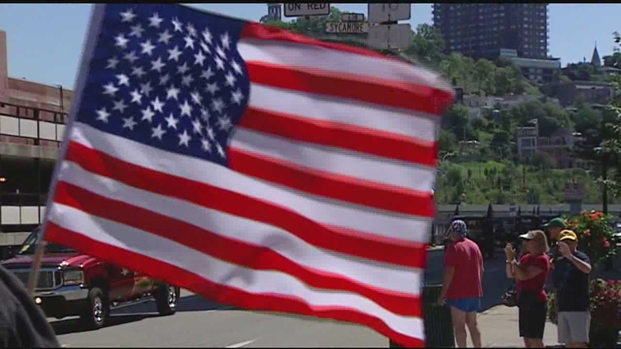 The nation's birthday celebration continues in the Tri-State Saturday with a salute to the men and women who served in the military. A Salute to Service will honor all veterans of all eras at Sawyer Point.