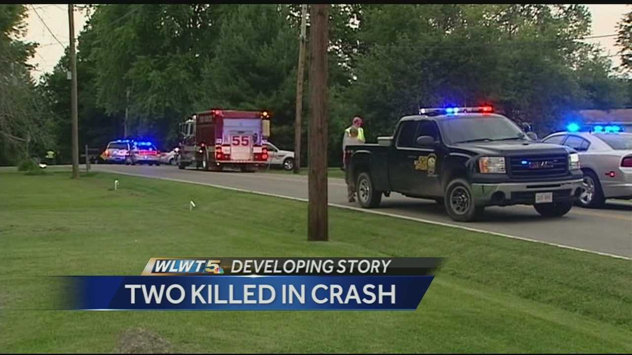 According to police, Jason Wright, 31, of Martinsville, Ohio and Charles McMullen, 34, of Williamsburg, Ohio were killed in the crash. They were both back-seat passengers in the vehicle.