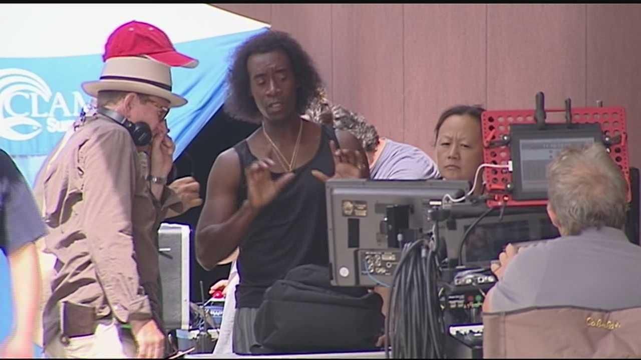 'Miles Ahead' film crews take over Cincinnati