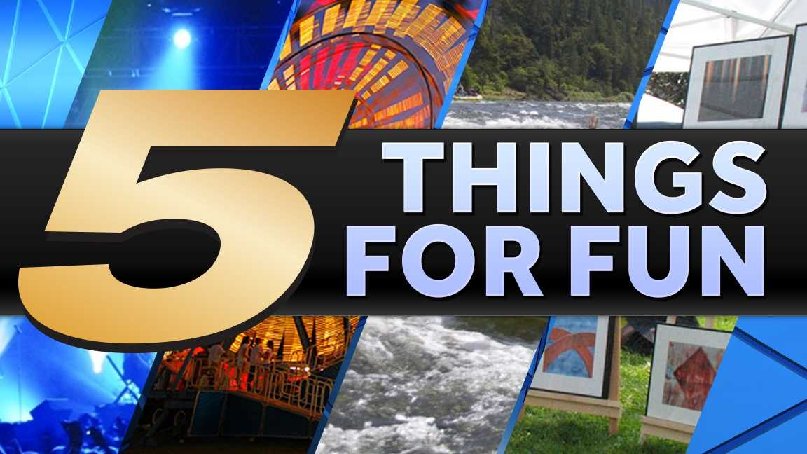 There's never a shortage of fun in the Tri-state. Here are our top 5 picks for the weekend!