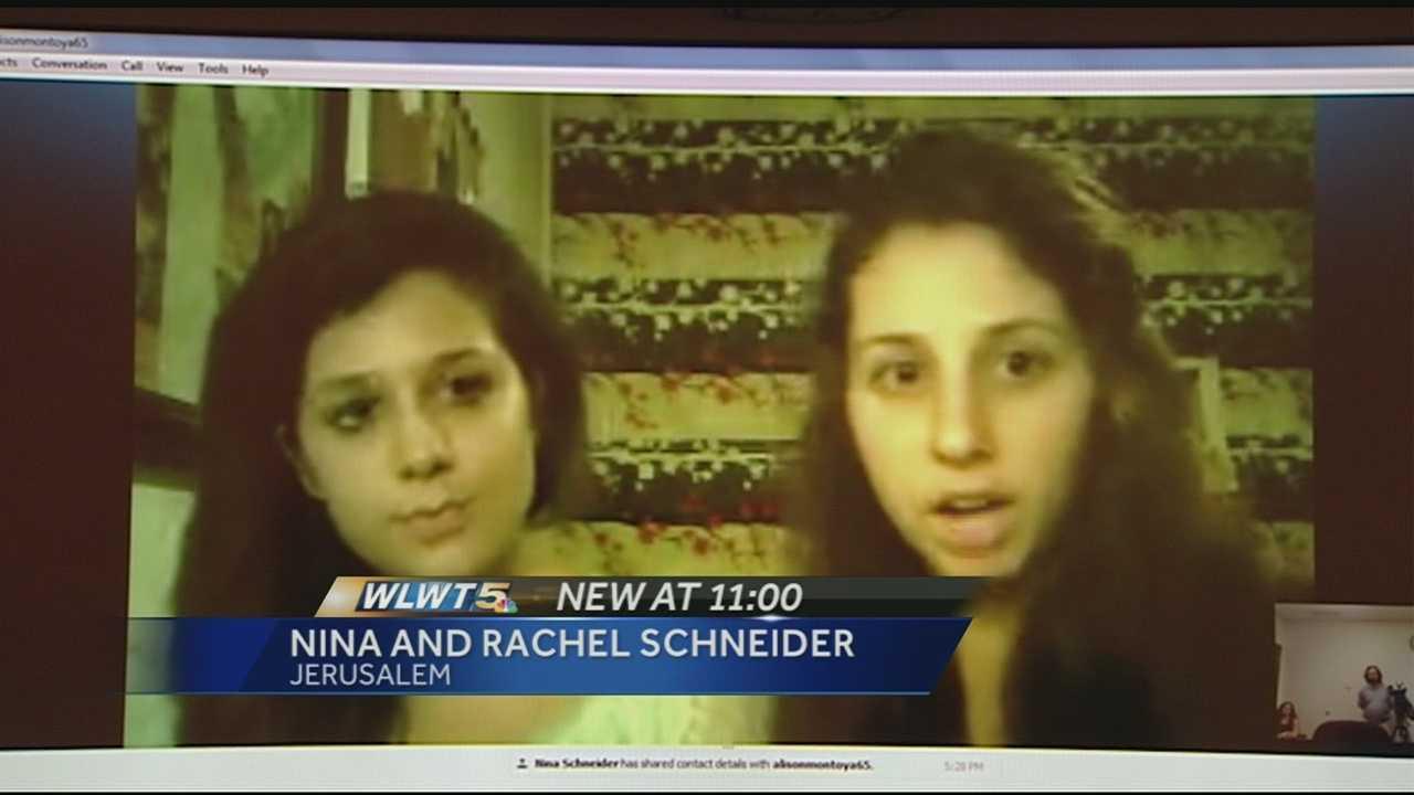 070814 girls in israel