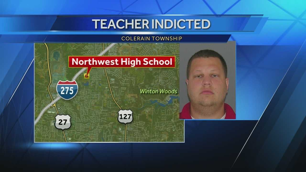 A Northwest High School teacher and coach has resigned amid an investigation into a sex charge involving a student. Kenneth Goodin III, 27, was indicted by a grand jury on Friday on one count of sexual battery. Investigators say Goodin had sexual contact with an 18-year-old student on May 16.