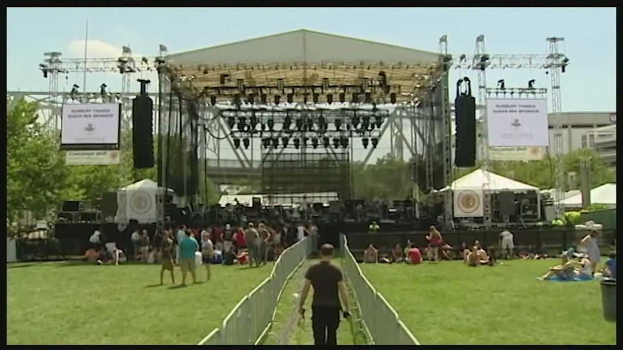 Friday marked opening night for the 3rd annual Bunbury Music Festival at Yeatman's Cove and Sawyer Point. The festival will feature 80 bands on 6 stages all weekend.