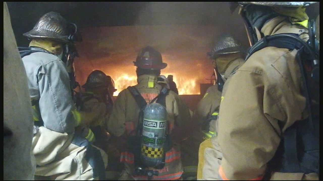 Members of the Tri-State community got the chance to put on firefighting gear and see first-hand how crews fight fires.