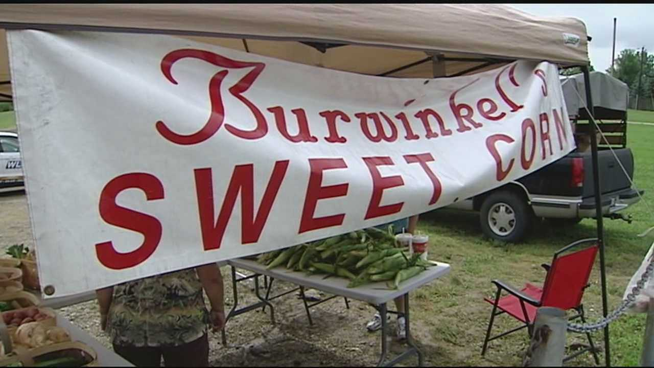 Zoning laws has forced the Berwinkel's Sweet Corn Stand to move out of sight of passing traffic. The move has cost them business the stand owners said, so now they're going against the zoning regulations and selling by the roadside again.