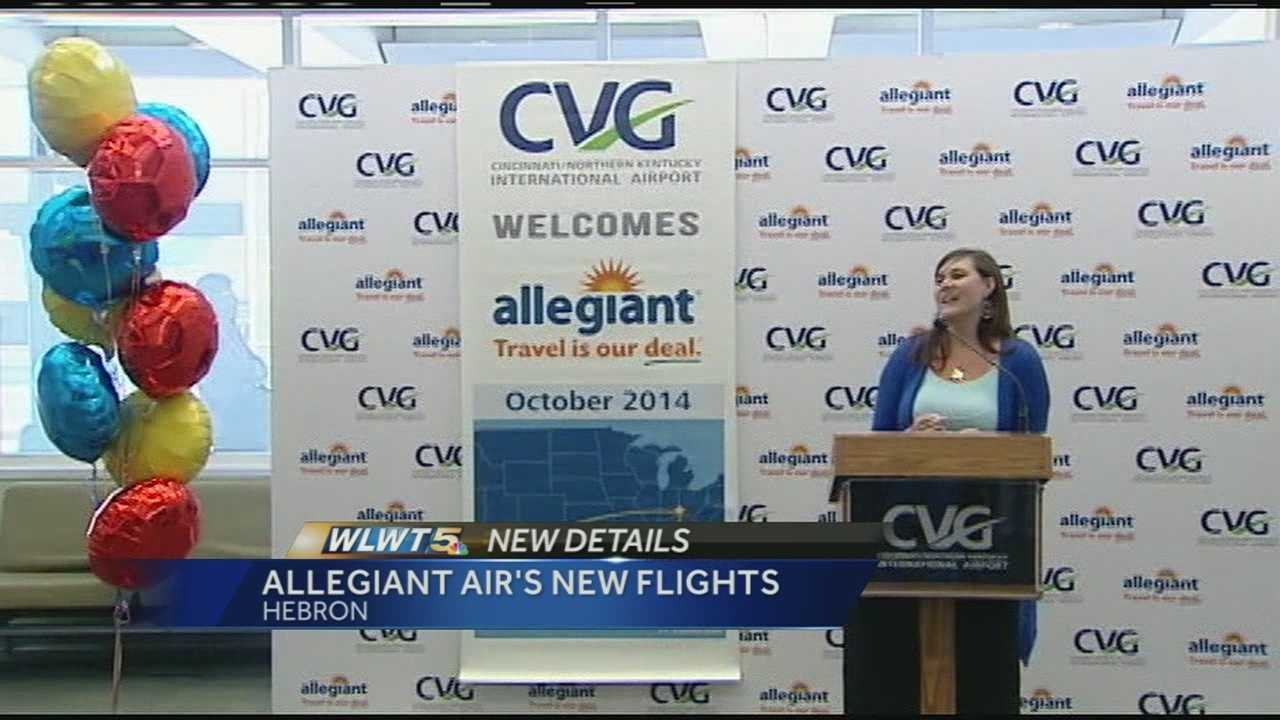 Allegiant expanding flights, adding new ones at CVG