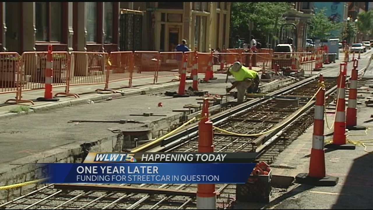 As streetcar supporters mark the one-year anniversary of the start of construction, the charitable spigot of private dollars to help operate the system has gone dry.