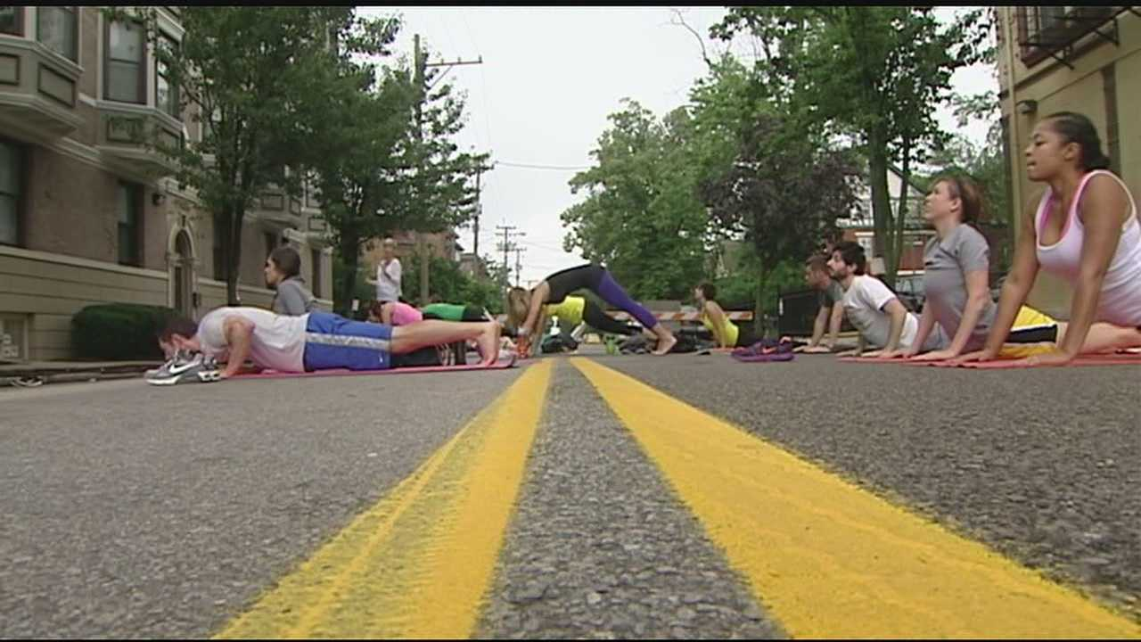 Cincy Summer Streets created a car-free space for people to run, walk, bike, connect with neighbors and support businesses.
