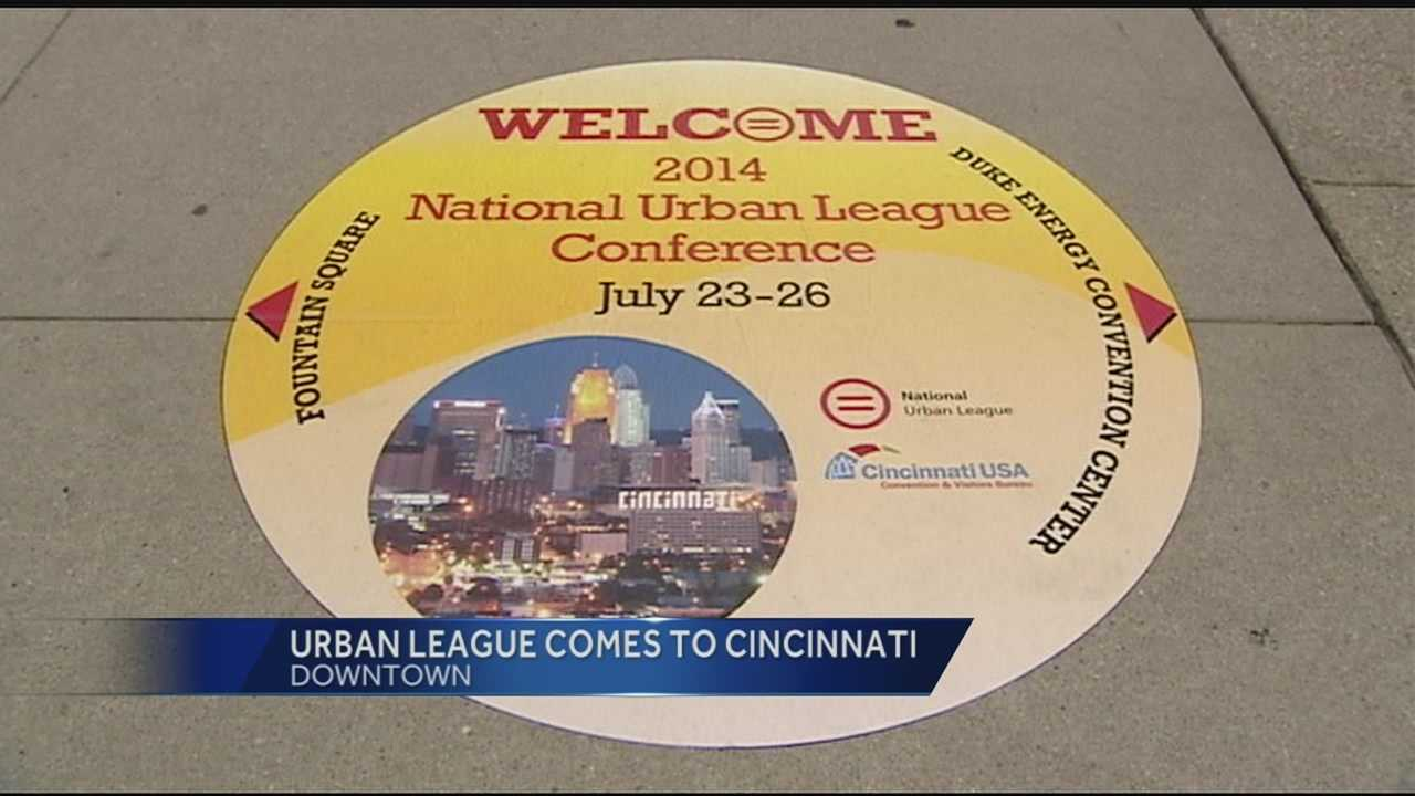 Thousands of people are spending money downtown this week during the National Urban League conference.