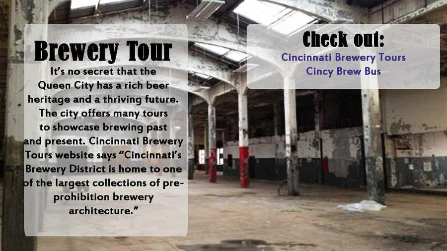 Visit Cincinnati Brewery ToursVisit Cincy Brew Bus