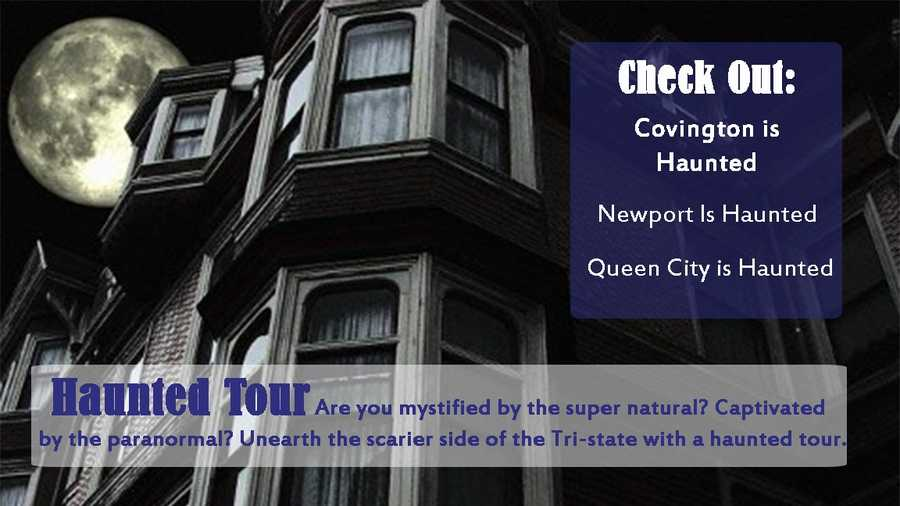 Click here for information on all three haunted tours and more