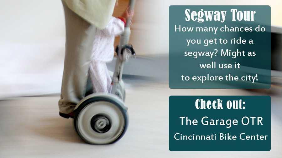Click for info on The Garage OTRClick for info on Cincinnati Bike Center