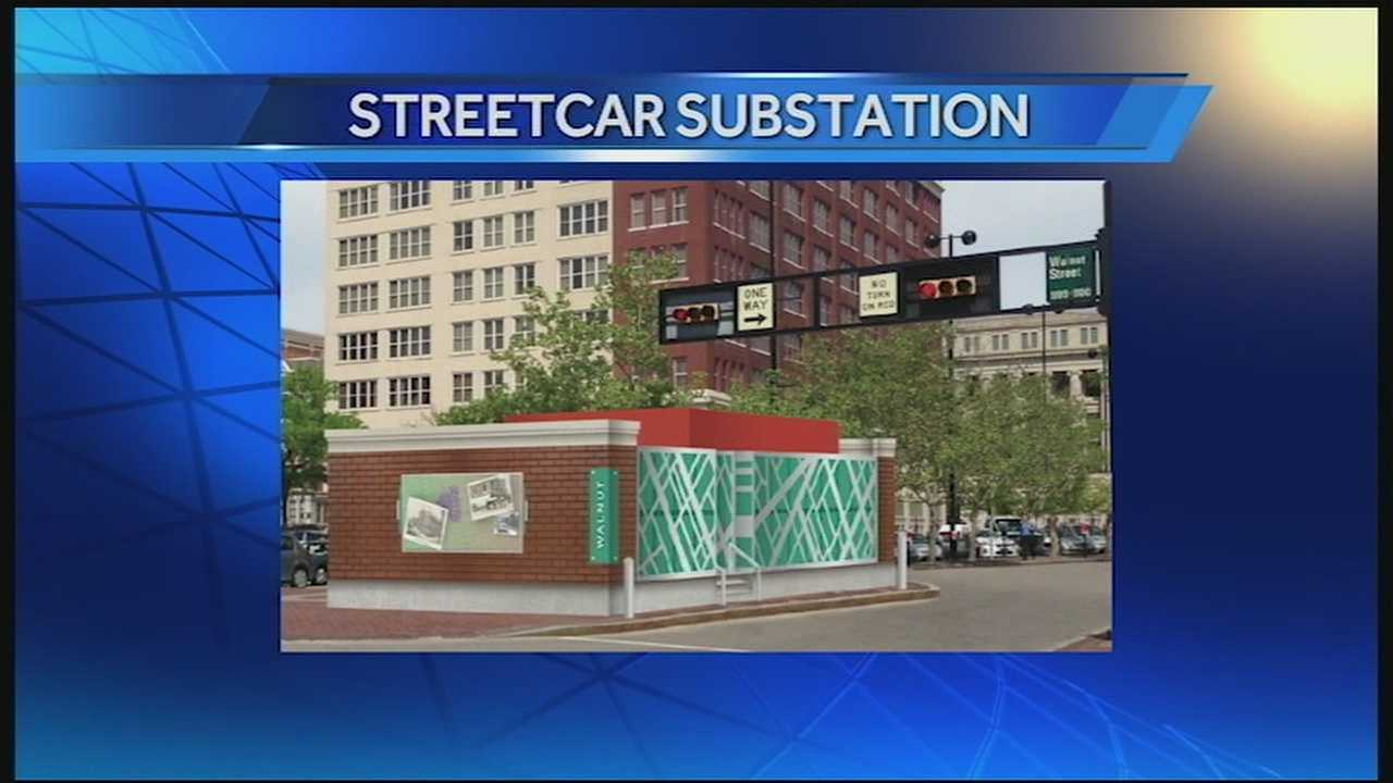 The construction for the streetcar substation at Court and Walnut streets has buried some parking spaces, some permanently some temporarily. Business owners and residents in the area are reacting to the construction and subsequent lack of parking differently.