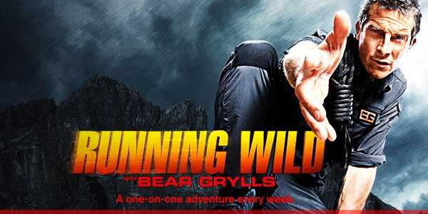 "Running Wild With Bear Grylls : Returning Soon. In the hour-long alternative series, ""Running Wild with Bear Grylls,"" the famed adventurer and survivalist will take six celebrities into the wildest and most remote locations in the U.S. and around the world for a 48-hour journey of a lifetime.The celebrities who will be partnered one-on-one with Grylls in their own stand-alone episodes include: actor Zac Efron (""Neighbors""), actor-director Ben Stiller (""The Secret Life of Walter Mitty""), actor Channing Tatum (""22 Jump Street""), NFL Hall of Famer Deion Sanders, actor Tom Arnold (""Sons of Anarchy"") and MSNBC and ""Today"" anchor Tamron Hall."