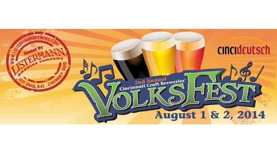 "VolksFest Aug 1 & 2Norwood, OH - Listermann Brewing CompanyLive music, food and LOTS of local beer... that's all the makings for a great summer festival. The ""Volks"" in the title is German for people so expect a German vibe. We recommend not missing the ceremonial keg tapping of the Listermann Volksfest Lager.Visit their Facebook page for all the information"