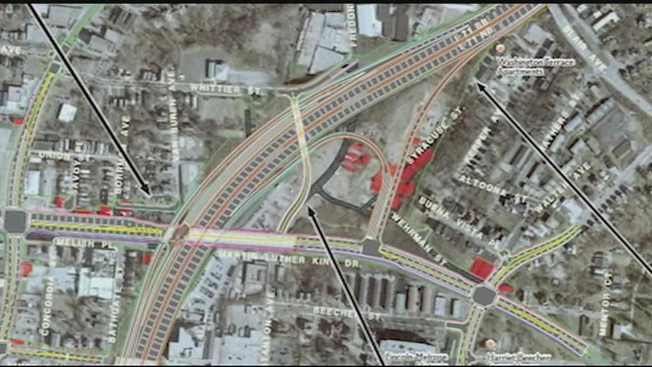 MLK interchange plan bringing big headaches, changes to neighborhood