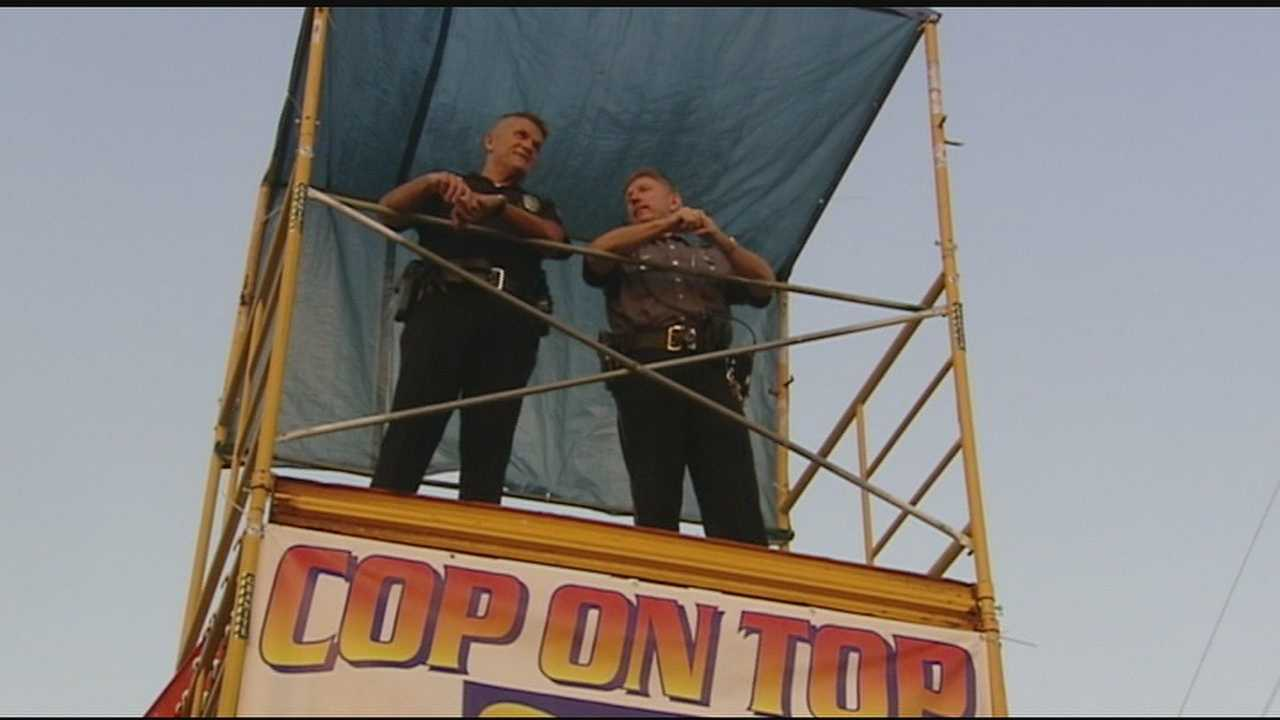 Springdale Police hold 5th annual Cop on Top event