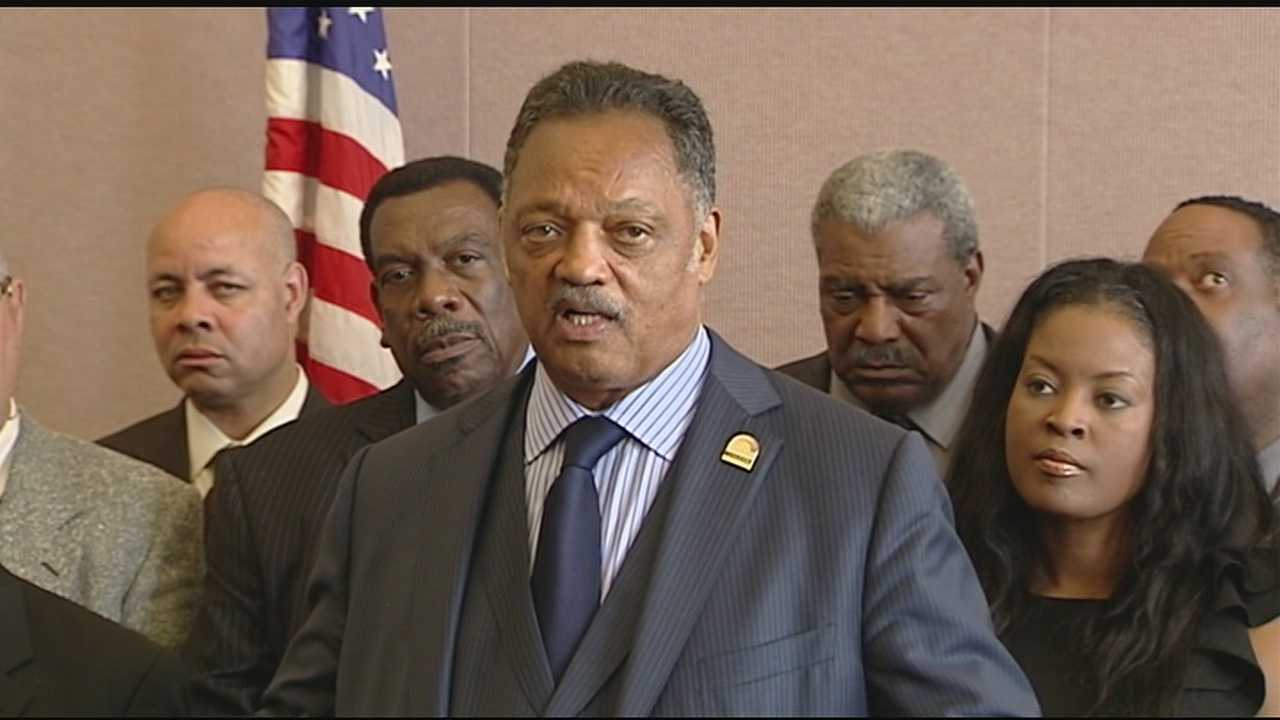 Rev. Jesse Jackson said it's time that the right to vote is guaranteed by the U.S. Constitution. He was in Cincinnati Wednesday to promote an amendment to the Constitution.