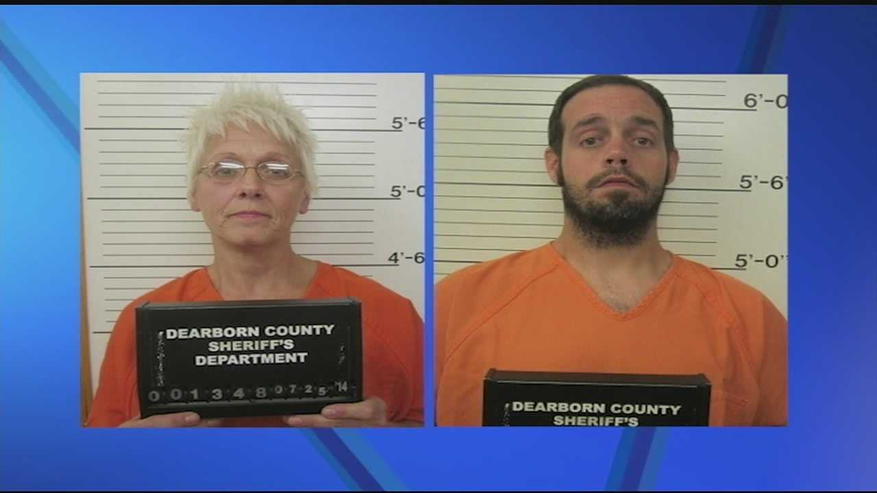 Prosecutors said Jerri Lynne May, 54, and her son Eric May, 33, were arrested and charged with dealing a controlled substance within 1,000 feet of school property or a public park and dealing a controlled substance.