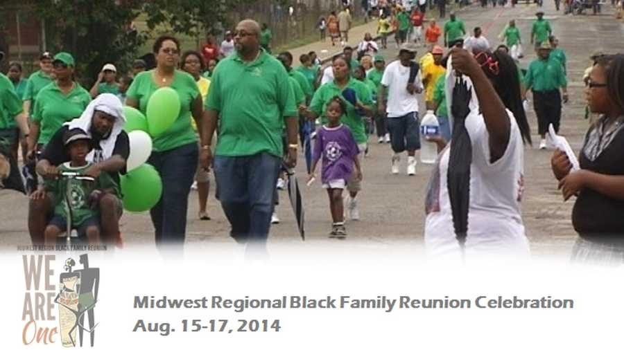 "Black Family Reunion August 15-17Downtown Cincinnati""We are One"" is the theme for the Midwest Regional Black Family Reunion Celebration in Cincinnati this year! The event is intended to celebrate the African American family with celebrations throughout downtown, but mainly at Sawyer Point! Check the schedule to make sure you don't miss the parade, special performances, the job fair and more!Click here for more info"