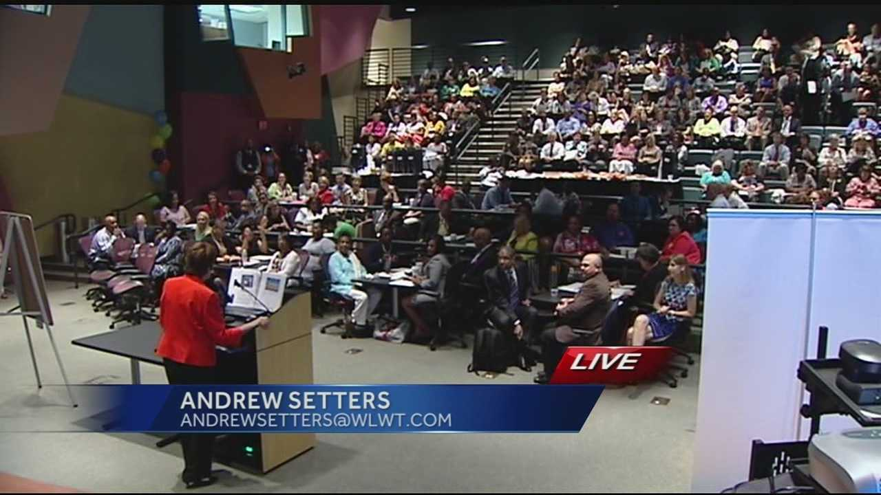 Classes are set to begin in just over a week for the Cincinnati Public Schools. Teachers, parents and administrators learned more about what is ahead for the 2014-2015 school year in the state of the schools address.