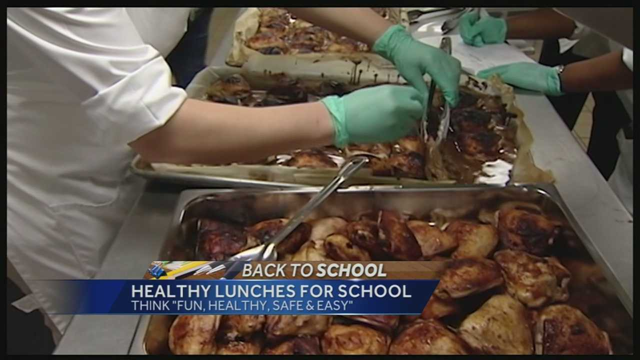 The Nutrition Council says that teaching meal planning at home can get students involved in the process and actually help them look forward to healthy lunches.