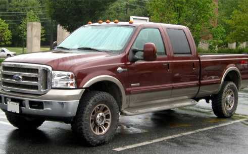 3. 2004 Ford Pickup (Full Size)
