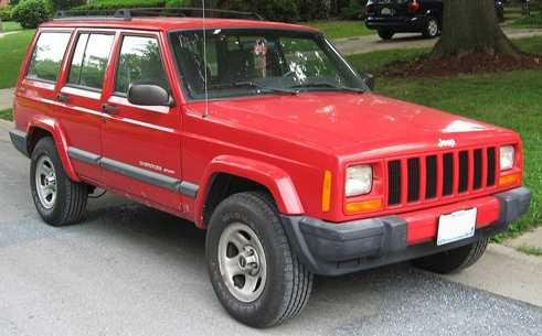 4. 1998 Jeep Cherokee/ Grand Cherokee