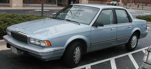 5. 1996 Buick Century