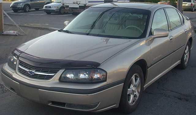 6. 2002 Chevrolet Impala
