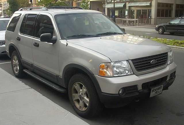 9. 2002 Ford Explorer