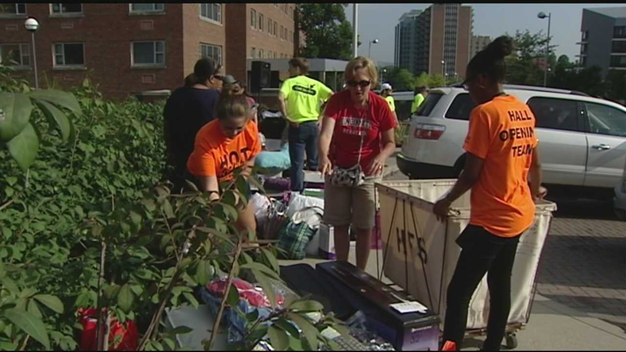 Wednesday was move-in day No. 1 for UC students