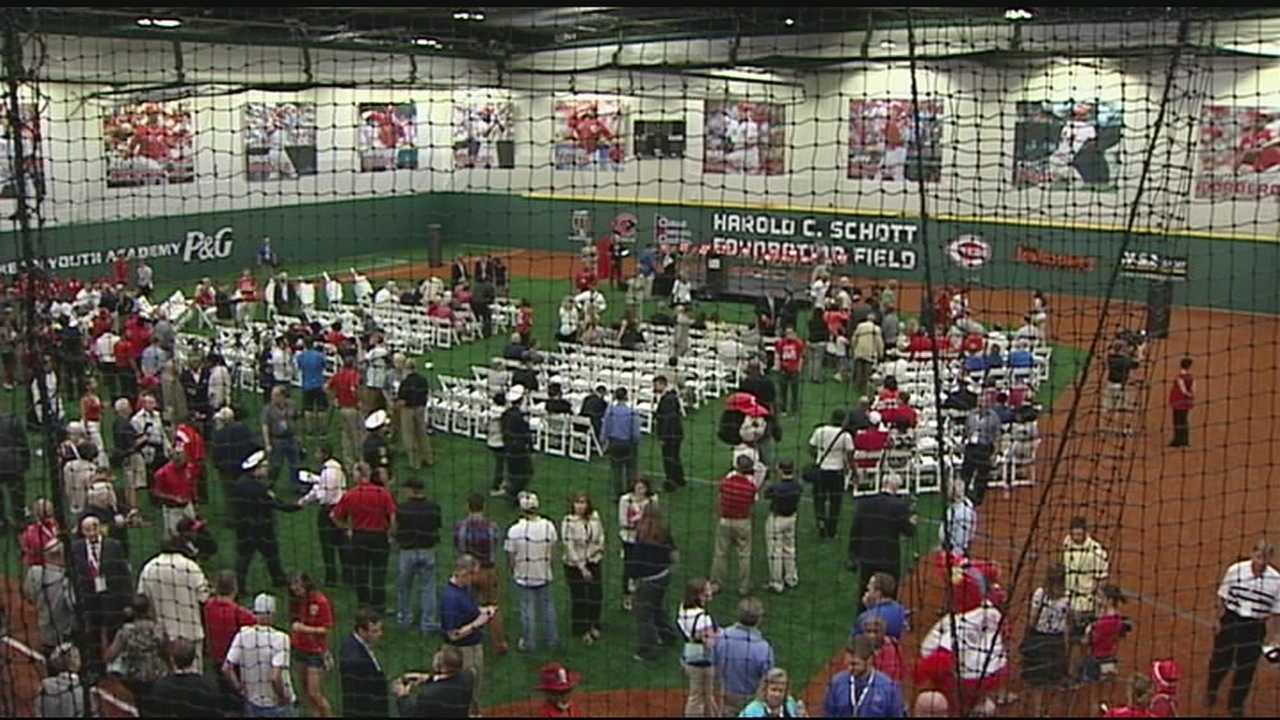 The $7 million facility is at 2026 East Seymour Ave. and will be the home of all of the Reds Community Fund's outreach programs, training clinics and summer camps.