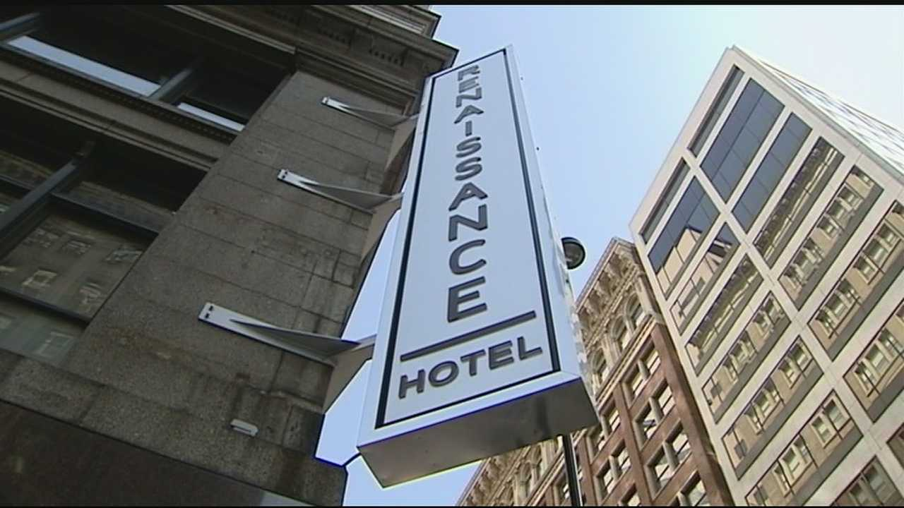 Downtown Cincinnati's newest hotel is celebrating its grand opening Tuesday, even though it's actually been open for a couple of months.