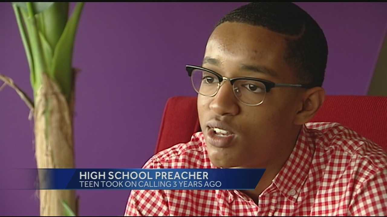 Logan is 16 years old and like any other kid his age he enjoys sports, music, movies and hanging out with his friends. But this Lakota West High School junior's main focus is on a higher power because Logan is a minister.