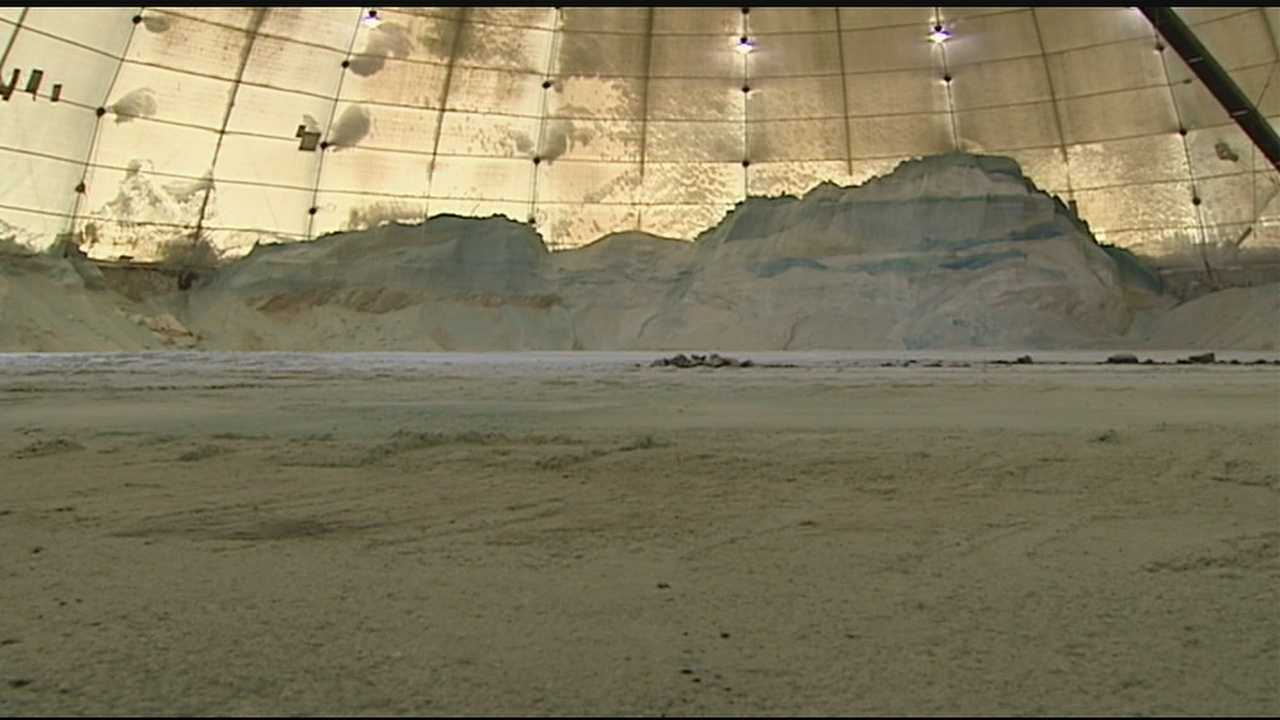 With this high demand for salt comes a high price, Hamilton County is seeking 16,000 tons of salt to fill local domes. It will come at a cost, $950,000 higher than last year.
