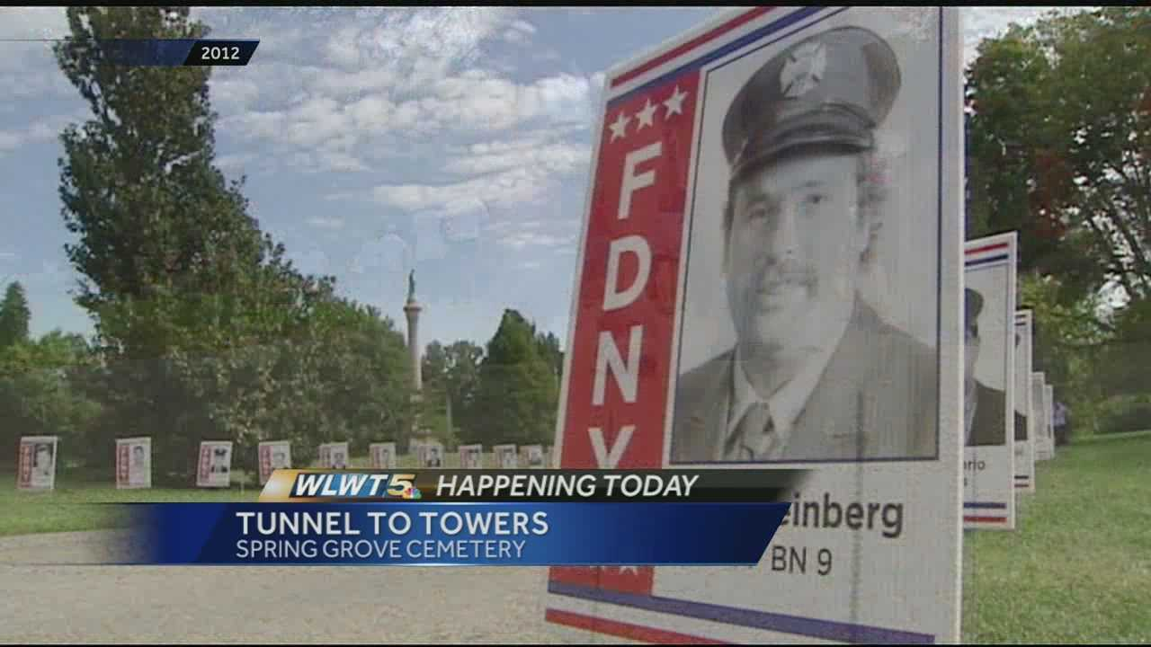 WLWT News 5 TodayThe Tunnel to Towers race at Spring Grove Cemetery honored firefighters who died trying to save lives in the midst of tragedy.