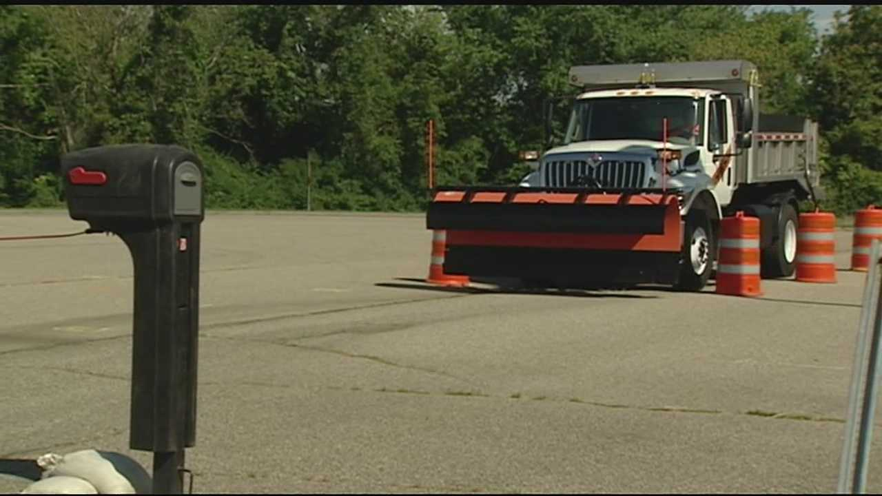 It is the season for Hamilton County's Snow Plow Roadeo. The training event helps plow drivers prepare for the upcoming winter.
